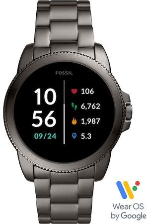 Fossil Men Grey Gen 5E Smart Watch FTW4049
