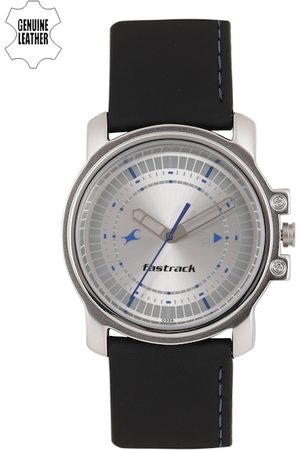 Fastrack Men Silver-Toned Analogue Watch NK3039SL01_OR