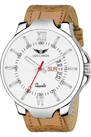 LOIS CARON Men White Analogue Watch LCS-4116
