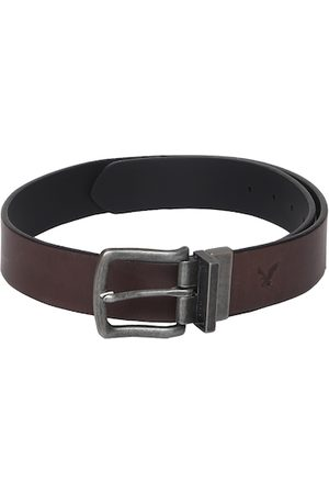 AMERICAN EAGLE OUTFITTERS Men Brown Solid Belt