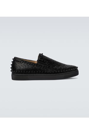 Christian Louboutin Men Sneakers - Pik Boat shoes