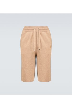 Burberry Men Shorts - Hurst cashmere shorts