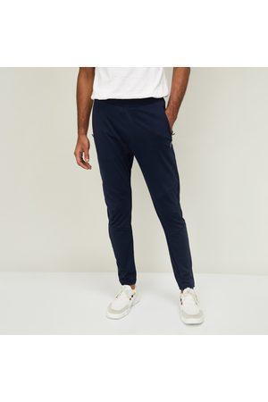 Proline Men Trousers - Men Solid Elasticated Track Pant