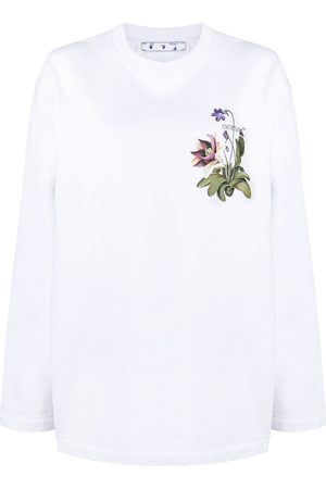 OFF-WHITE BOTANICAL ARROWS OVERCREWNECK GREE