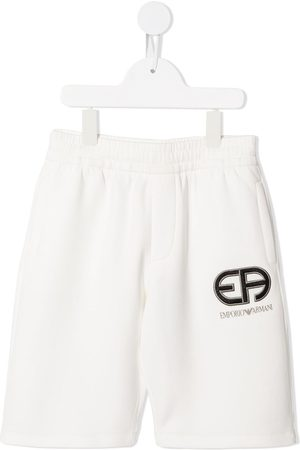 Emporio Armani Embroidered logo shorts