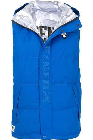 AAPE BY A BATHING APE Men Body Warmers - Embroidered logo padded gilet