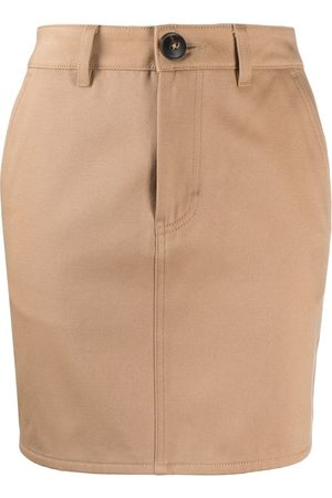 Ami Fitted mini skirt