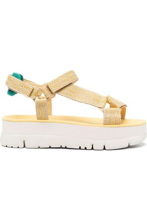 Camper Oruga Up flatform sandals