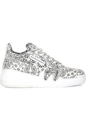 Giuseppe Zanotti Paisley print sneakers