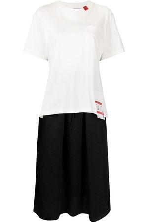 Maison Mihara Yasuhiro Women Short Sleeve - T-shirt layered dress