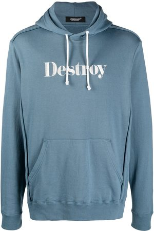 UNDERCOVER Destroy embroidered pullover hoodie