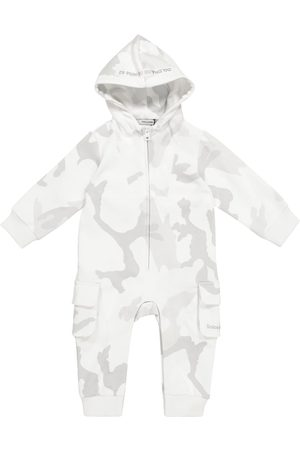 Dolce & Gabbana Rompers - Baby camouflage cotton onesie