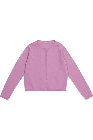 Il gufo Girls Cardigans - Cotton cardigan