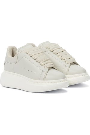 Alexander McQueen Girls Sneakers - Leather sneakers