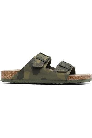 Birkenstock Arizona camouflage-print leather sandals