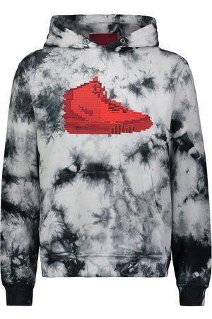 MOSTLY HEARD RARELY SEEN Sneaker tie-dye hoodie