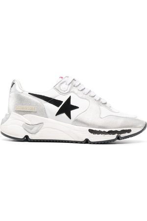 Golden Goose Running Sole leather sneakers