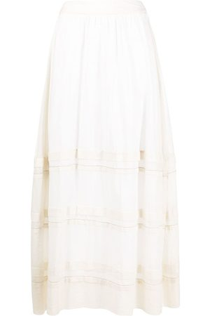 PESERICO SIGN Embroidered maxi skirt