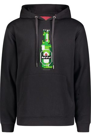 MOSTLY HEARD RARELY SEEN Green Bottle print hoodie