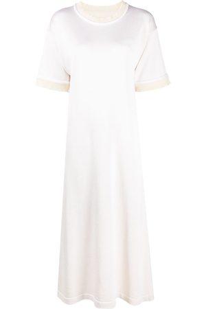 Jil Sander Short-sleeve mid-length dress