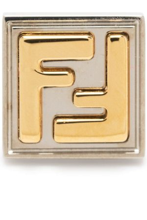 Fendi Monogram stud earrings