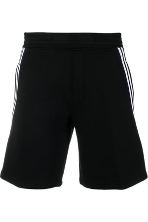 Neil Barrett Side-stripe track shorts