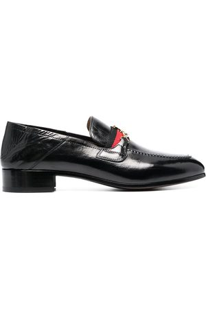 Vivienne Westwood Men Loafers - Orb-detail leather loafers