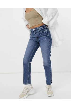 River Island Slim fit jeans in mid auth