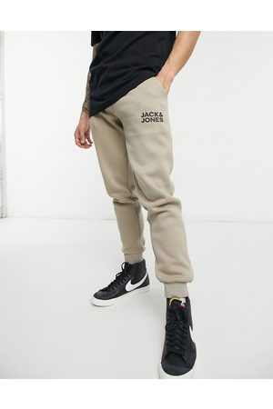 Jack & Jones Intelligence logo sweat joggers in