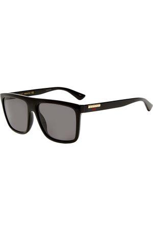 Gucci Men Sunglasses - Gucci Lines Injection Sunglasses