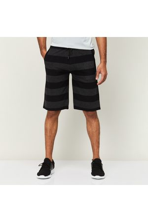 Proline Men Striped Elasticated Shorts