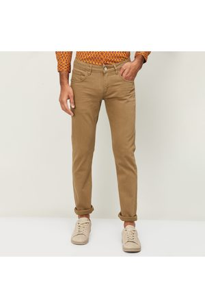 Celio Men Solid Slim Tapered Jeans