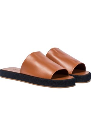 Clergerie Gao leather slides