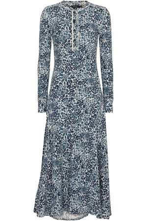 Polo Ralph Lauren Floral cotton jersey midi dress