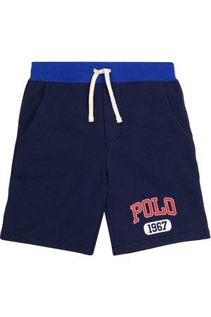 Polo Ralph Lauren Kids Logo drawstring cotton shorts
