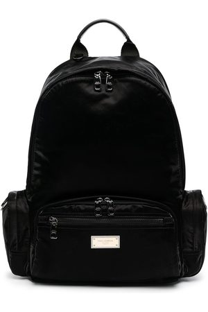 Dolce & Gabbana Men Rucksacks - Logo-plaque backpack
