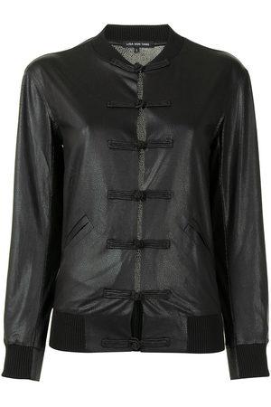 Lisa von Tang Button-detail jacket