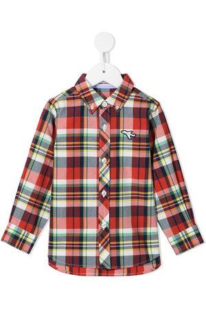 Familiar Plaid button-down shirt