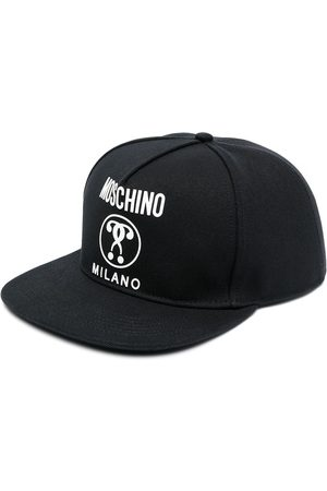 Moschino Men Hats - Logo-print six-panel cap