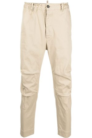 Dsquared2 Paperbag-waist chinos