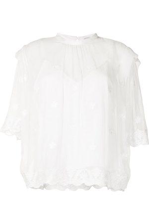 IRO Women Shirts - Lace-layered blouse