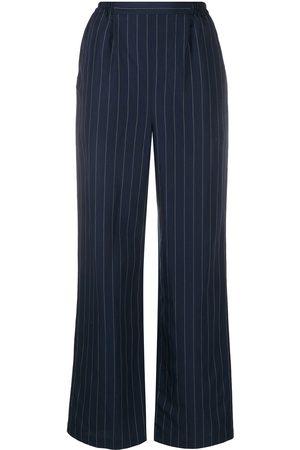 12 STOREEZ Pinstripe tailored trousers