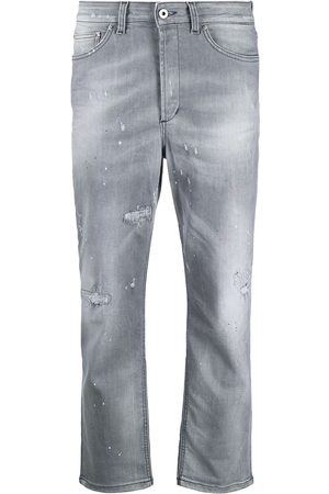 Dondup Cropped stonewashed jeans