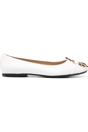 J.W.Anderson Anchor-logo detail ballerina shoes