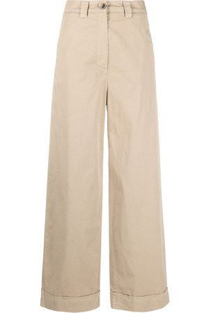 SEMICOUTURE Ines wide leg trousers