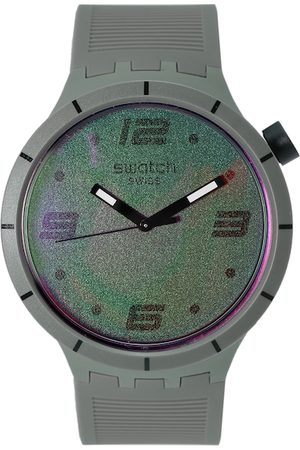 Swatch Men Olive Green Analogue Watch SO27M105