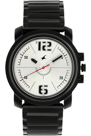 Fastrack Men Silver-Toned Analogue Watch 3039NM01