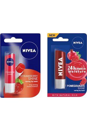 Nivea Set of 2 Lip Balms