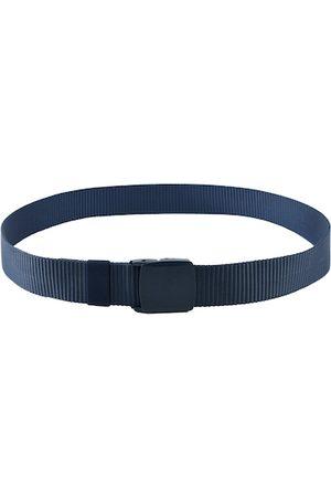 Kastner Men Navy Blue Textured Belt