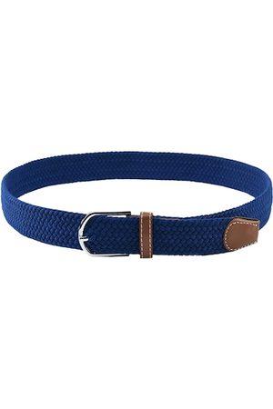 Kastner Men Blue Woven Design Belt